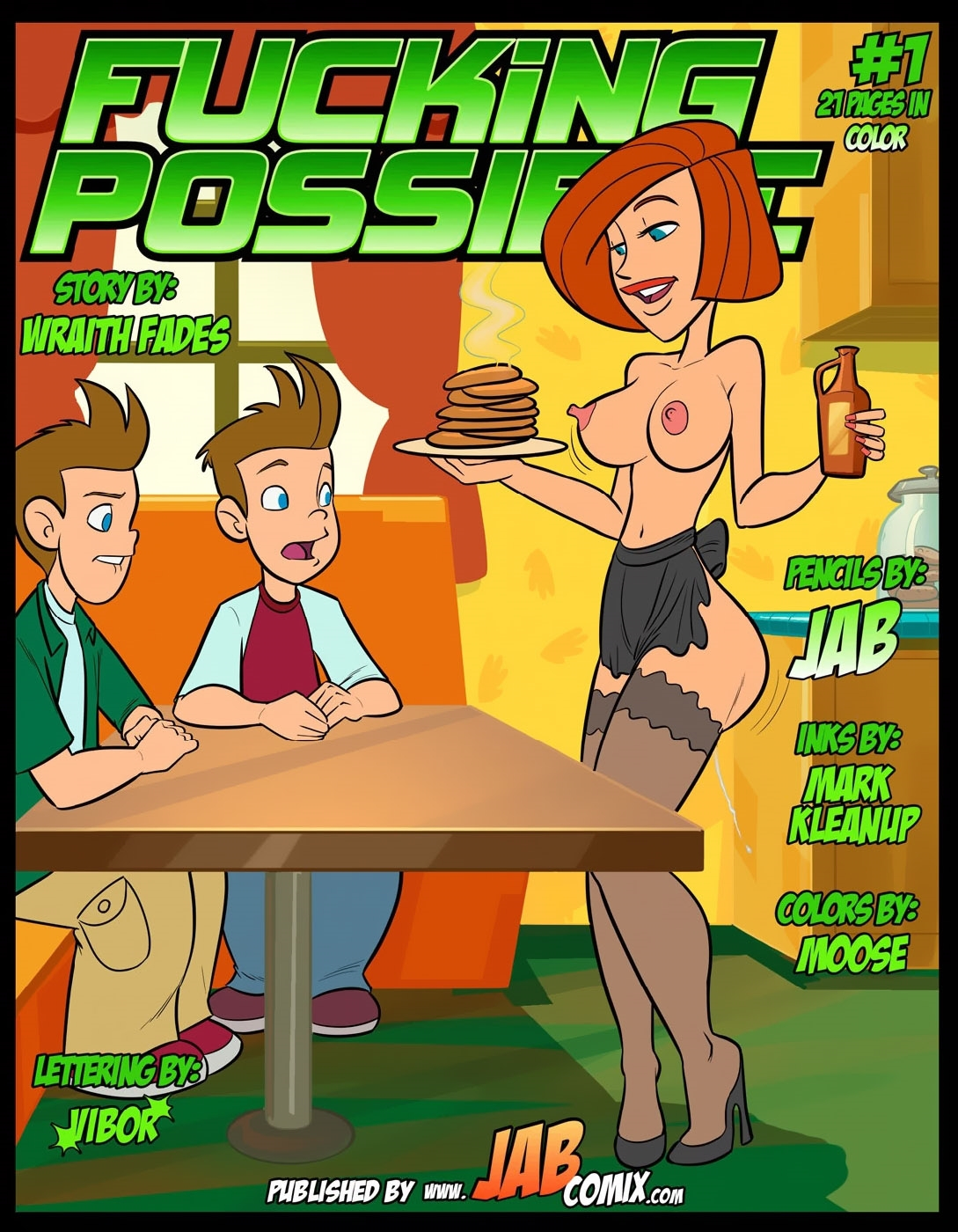 SureFap xxx porno Kim Possible - [JabComix] - Fucking Possible 1