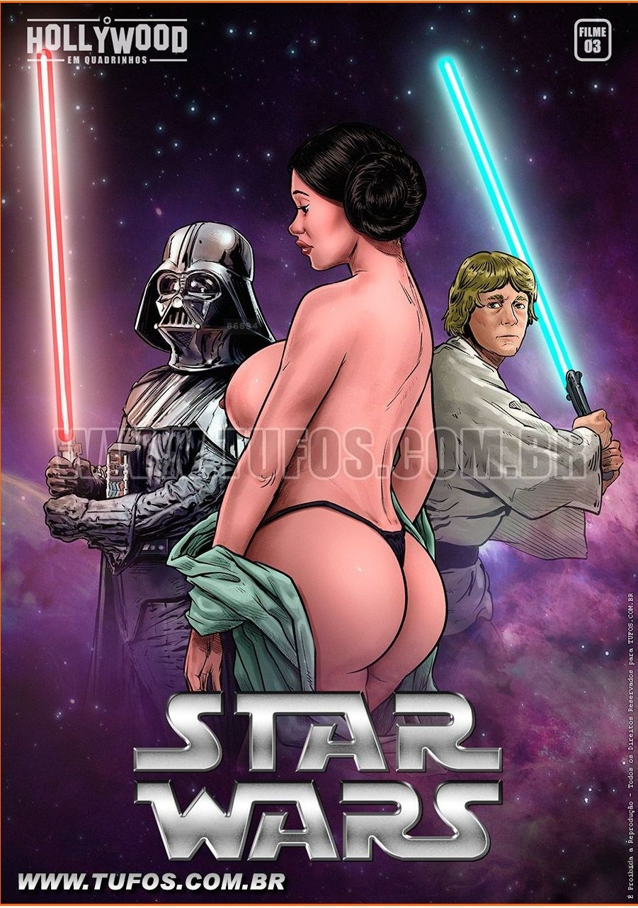 SureFap xxx porno Star Wars - [Tufos] - Hollywood em Quadrinhos 3 - Star Wars
