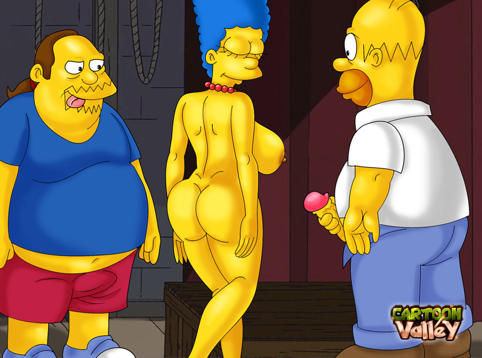 SureFap xxx porno The Simpsons - [CartoonValley][NEW] - Homer & Jeff Albertson Fucks Marge 2 (Two versions)
