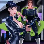 Crossover Heroes — [Online SuperHeroes] — Modesty Blaise Getting Anal Sex From Mon-El