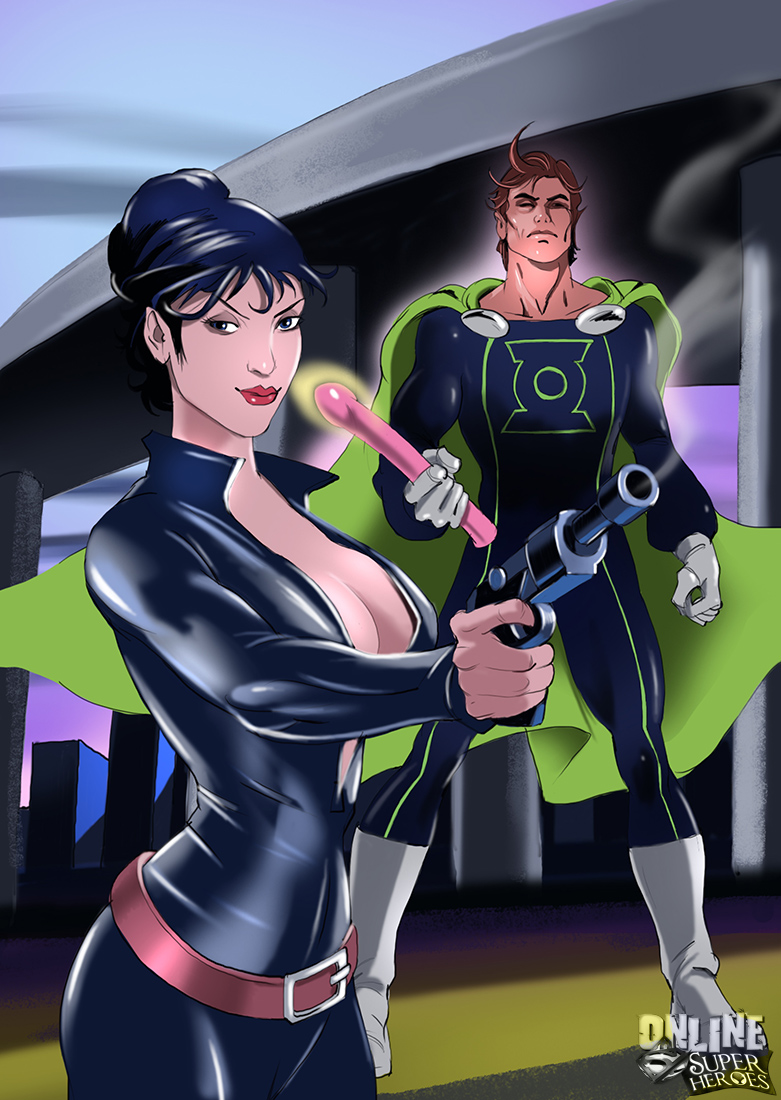 SureFap xxx porno Crossover Heroes - [Online SuperHeroes] - Modesty Blaise Getting Anal Sex From Mon-El