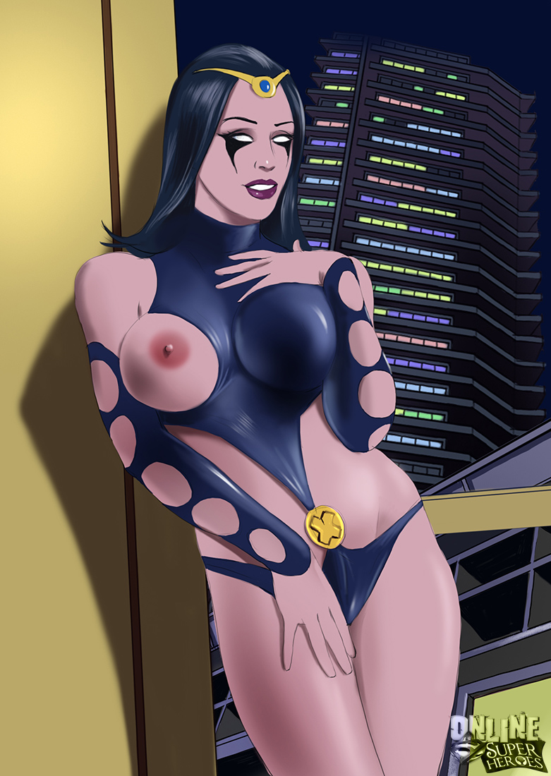 SureFap xxx porno Marvel Universe & Marvel Comics - [Online SuperHeroes] - Nick Shrike Gives Nightside a Hot Creampie