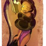 The Jungle Book - [Fixxxer] - Shanti and Kaa
