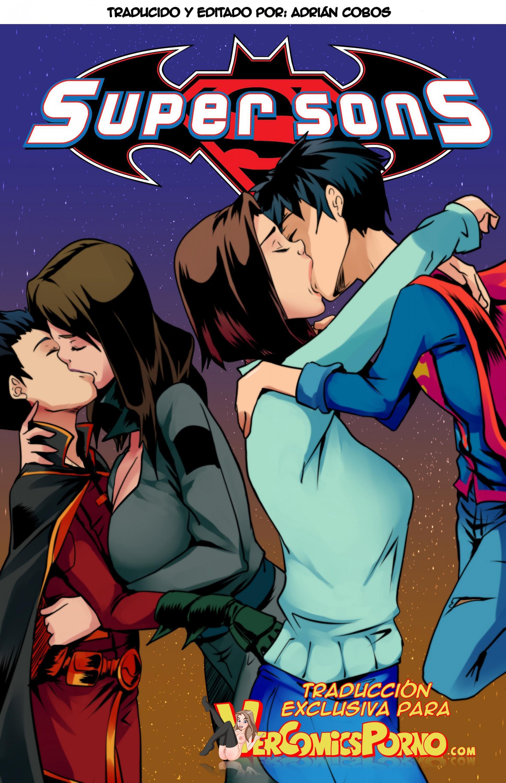 SureFap xxx porno Justice League - [Aya Yanagisawa] - Super Sons ch. 1