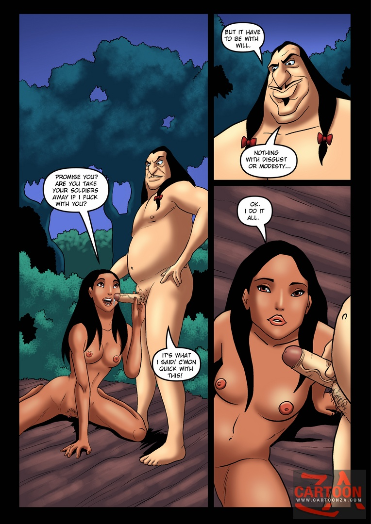 SureFap xxx porno Pocahontas - [Cartoonza][Marcelo Salaza] - Tanned Pocahontas