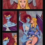 Gargoyles - [VP] - Demona X Finella