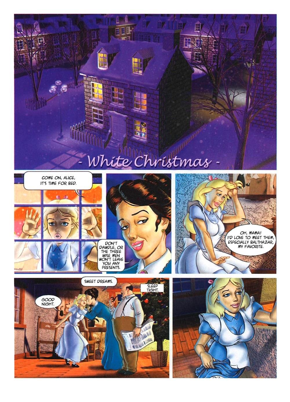 SureFap xxx porno Alice in Wonderland - [Paco Roca] - White Christmas + Cut Versions