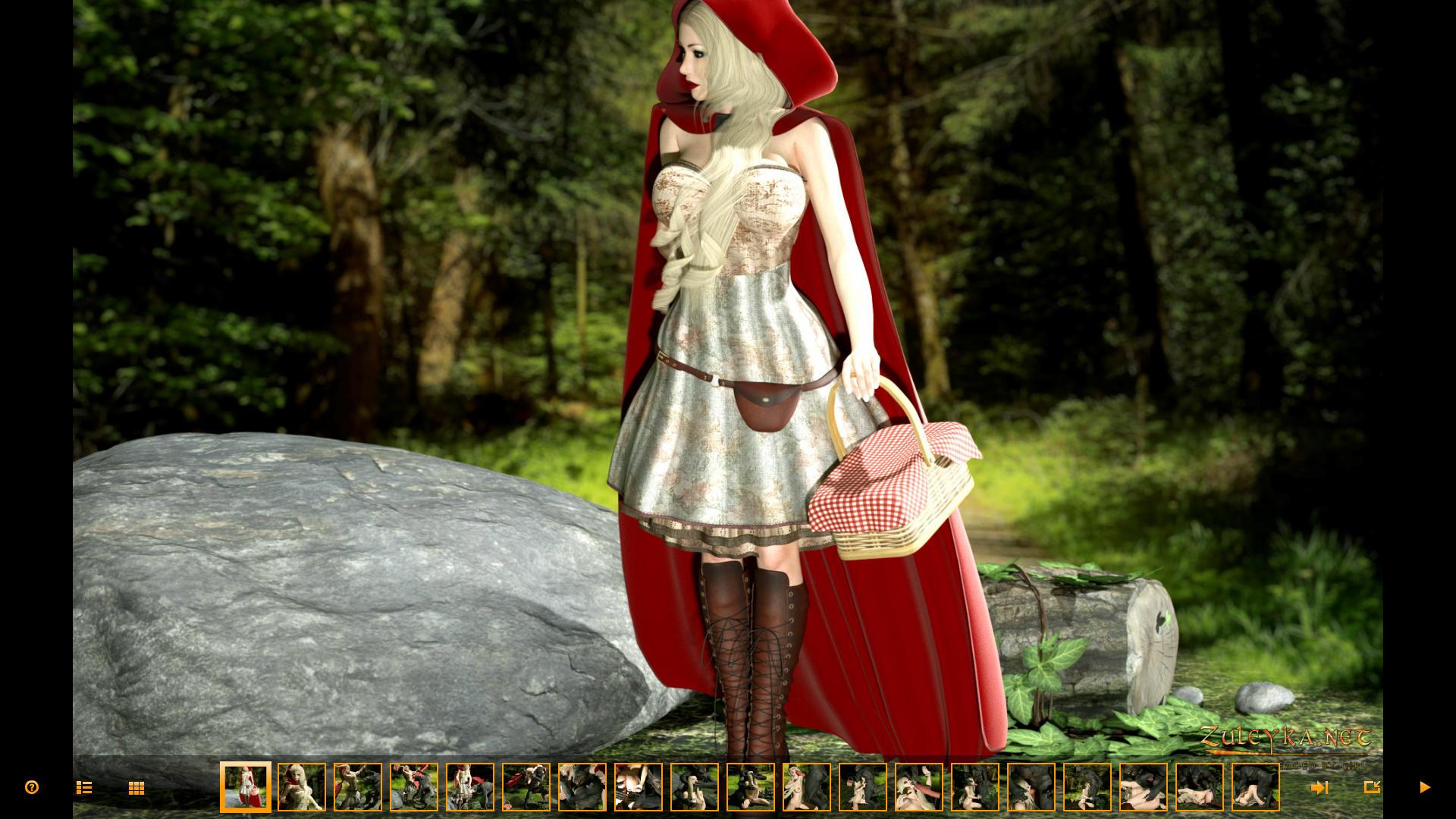 SureFap xxx porno Little Red Riding Hood - [Zuleyka] - Red Riding Hood In The Adult World