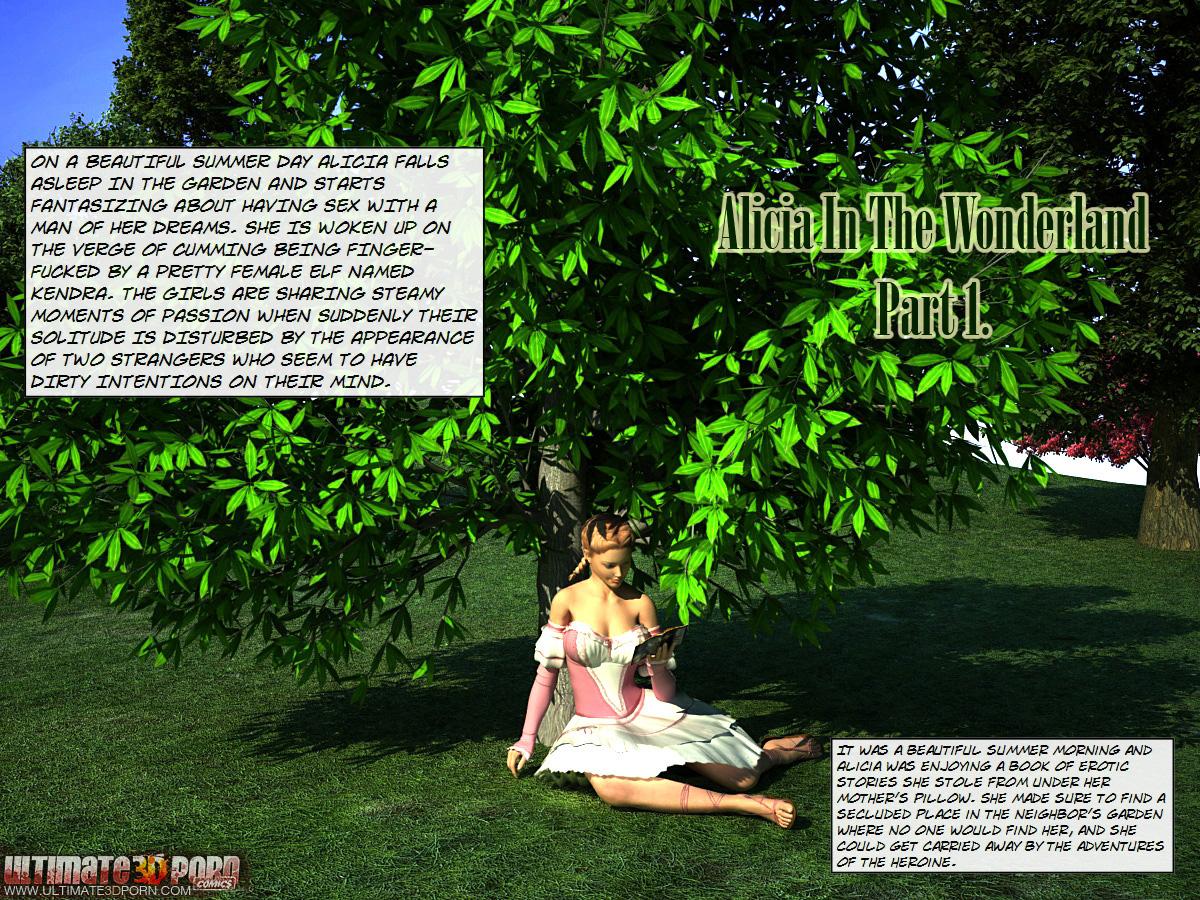 SureFap xxx porno Alice in Wonderland - [Ultimate3DPorn] - Alicia In The Wonderland - Part 1