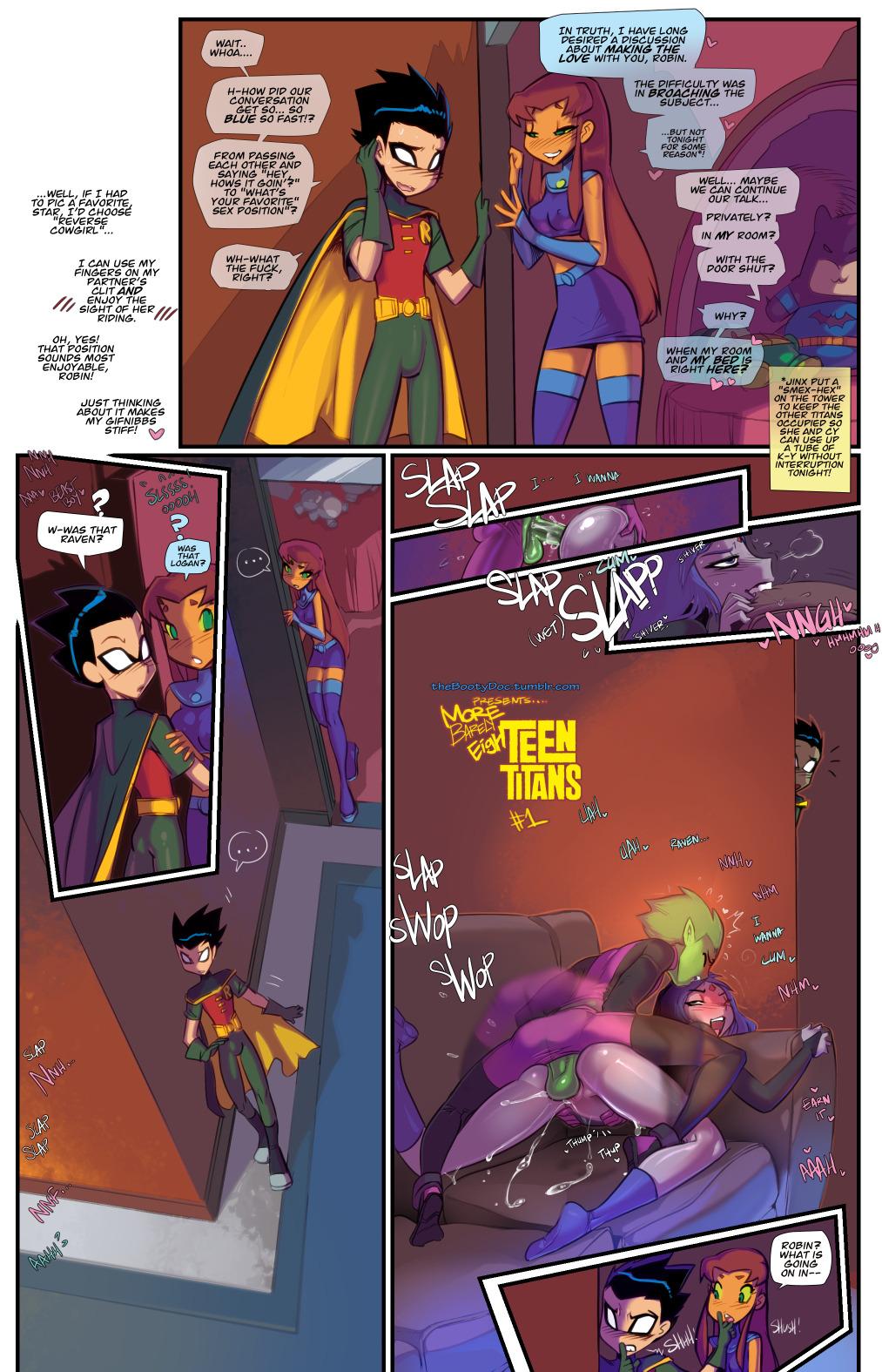 SureFap xxx porno The Teen Titans - [Fred Perry] - Barely EighTeen Titans 2
