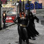 Batman — [MrBunnyArt] — Batgirl vs Cain