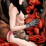 Hellboy - [Leandro Comics] - Hellboy Has Kinky Hot Sex With The Naughty Liz