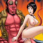 Hellboy (Movie) — [GoGoCeleb] — Hot and Red