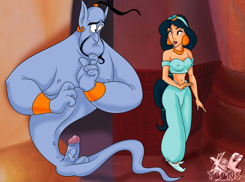 SureFap xxx porno Aladdin - [XL-Toons] - Jasmine & Blue Dick