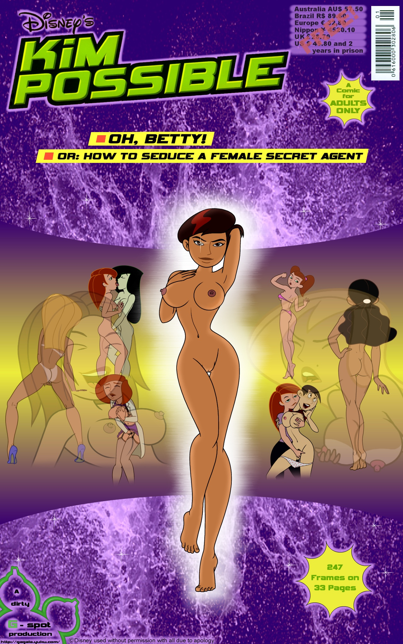 SureFap xxx porno Kim Possible - [Gagala] - Oh, Betty! - Or How to Seduce a Female Secret Agent