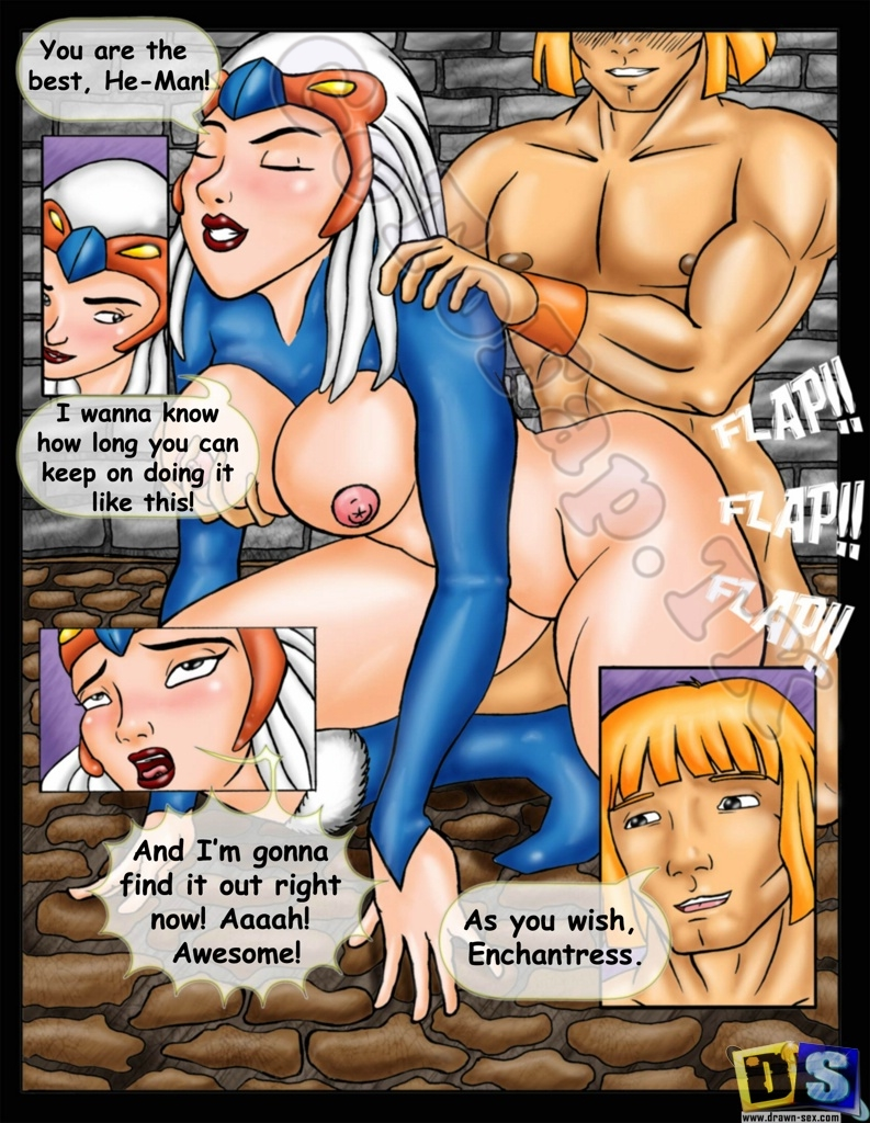 SureFap xxx porno He-Man and She-Ra: The Secret of the Sword - [Drawn-Sex][Ujinko] - Sexy Warrior Sex-Man