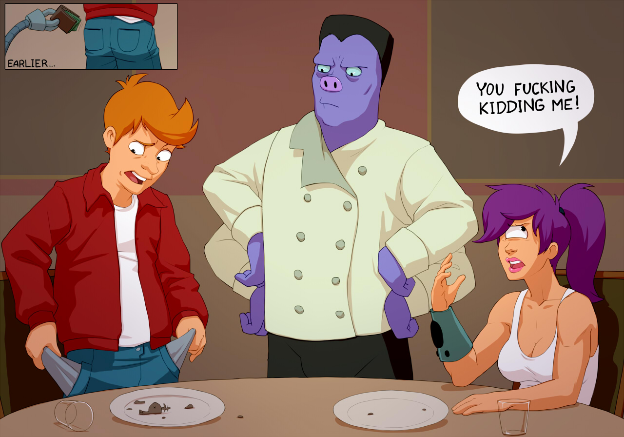 SureFap xxx porno Futurama - [Kotaotake] - Typical Date With Fry