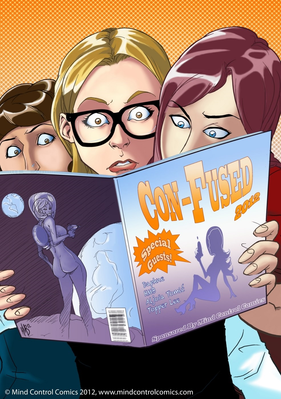 SureFap xxx porno Crossover Heroes - [Mind Control Comics (MCC)][HMB-Art] - Con-Fused 1-7