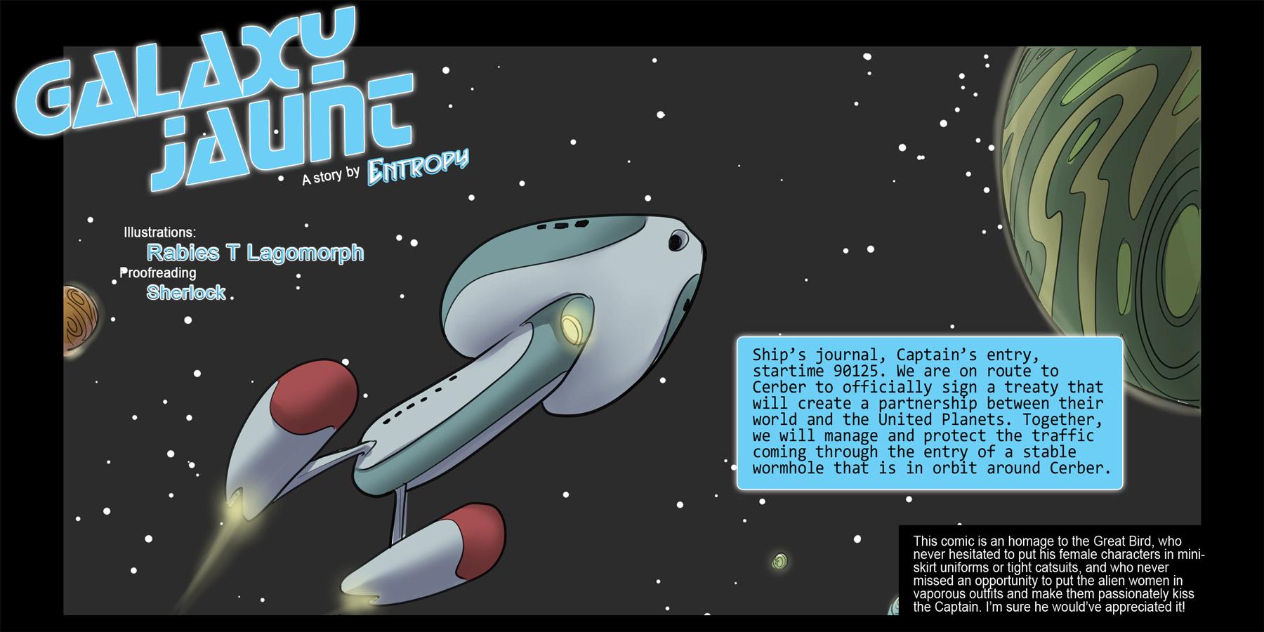 SureFap xxx porno Star Trek - [Rabies T Lagomorph (Entropy)] - Galaxy Jaunt - Episode 1
