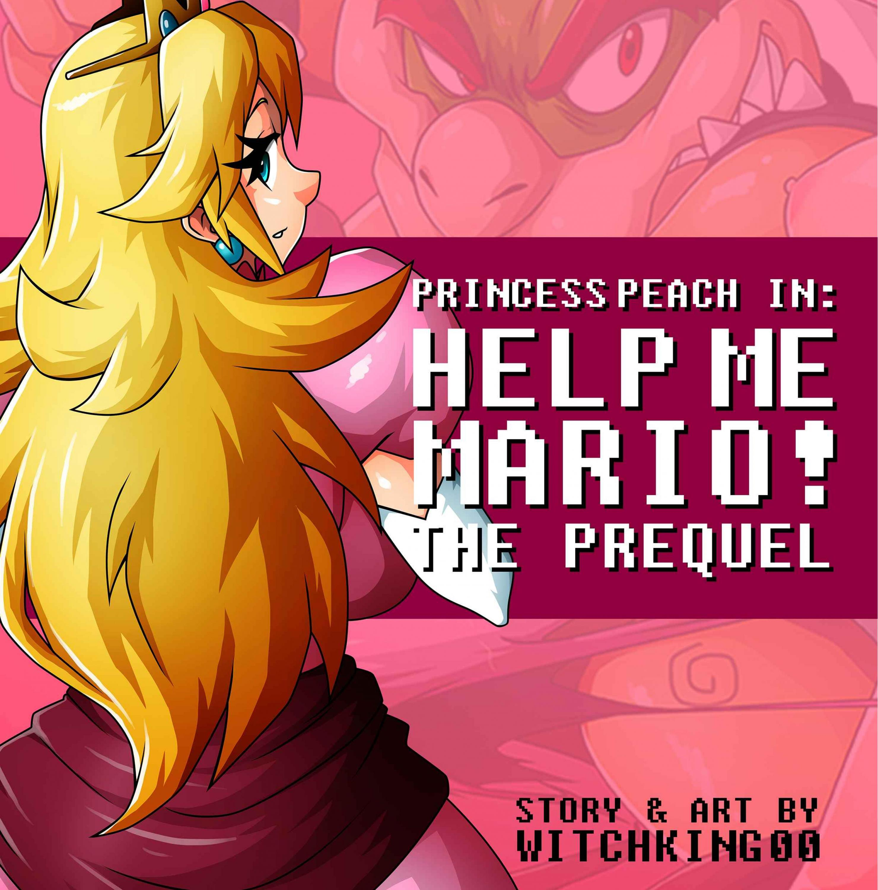 SureFap xxx porno Super Mario Bros - [Witchking00] - Princess Peach in Help Me Mario!