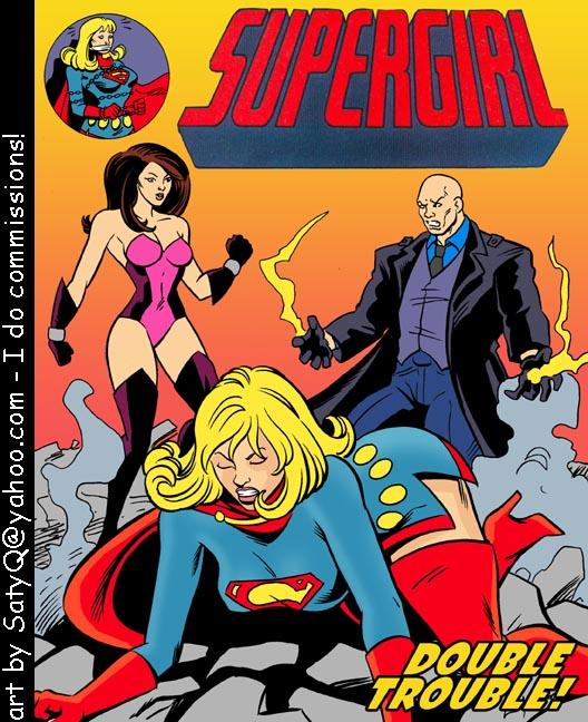 SureFap xxx porno Superman - [Satyq] - Supergirl Sex Slave - Double Trouble