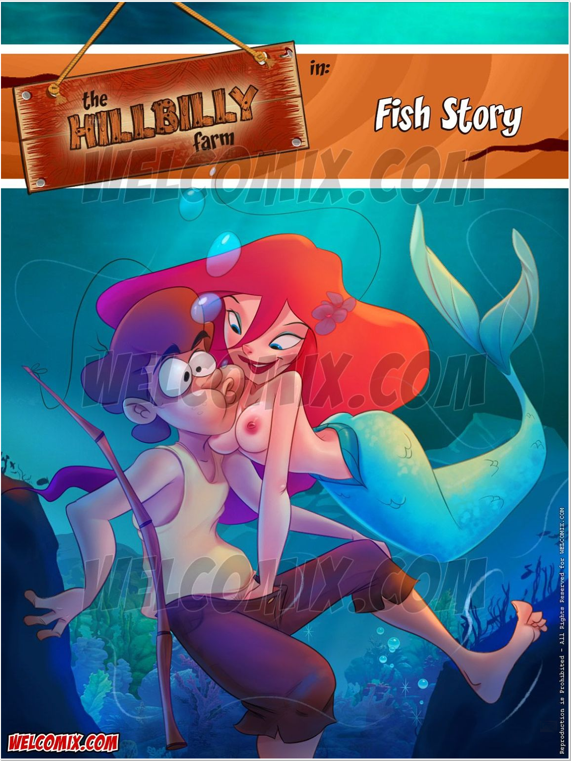 SureFap xxx porno The Little Mermaid - [WelComix] - The Hillbilly Farm #17 Fish Story