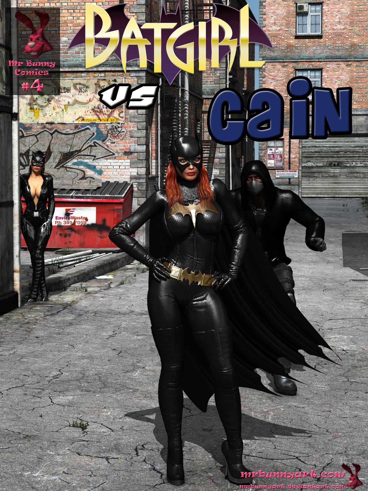 SureFap xxx porno Batman - [MrBunnyArt] - Comics #4 - Batgirl vs Cain