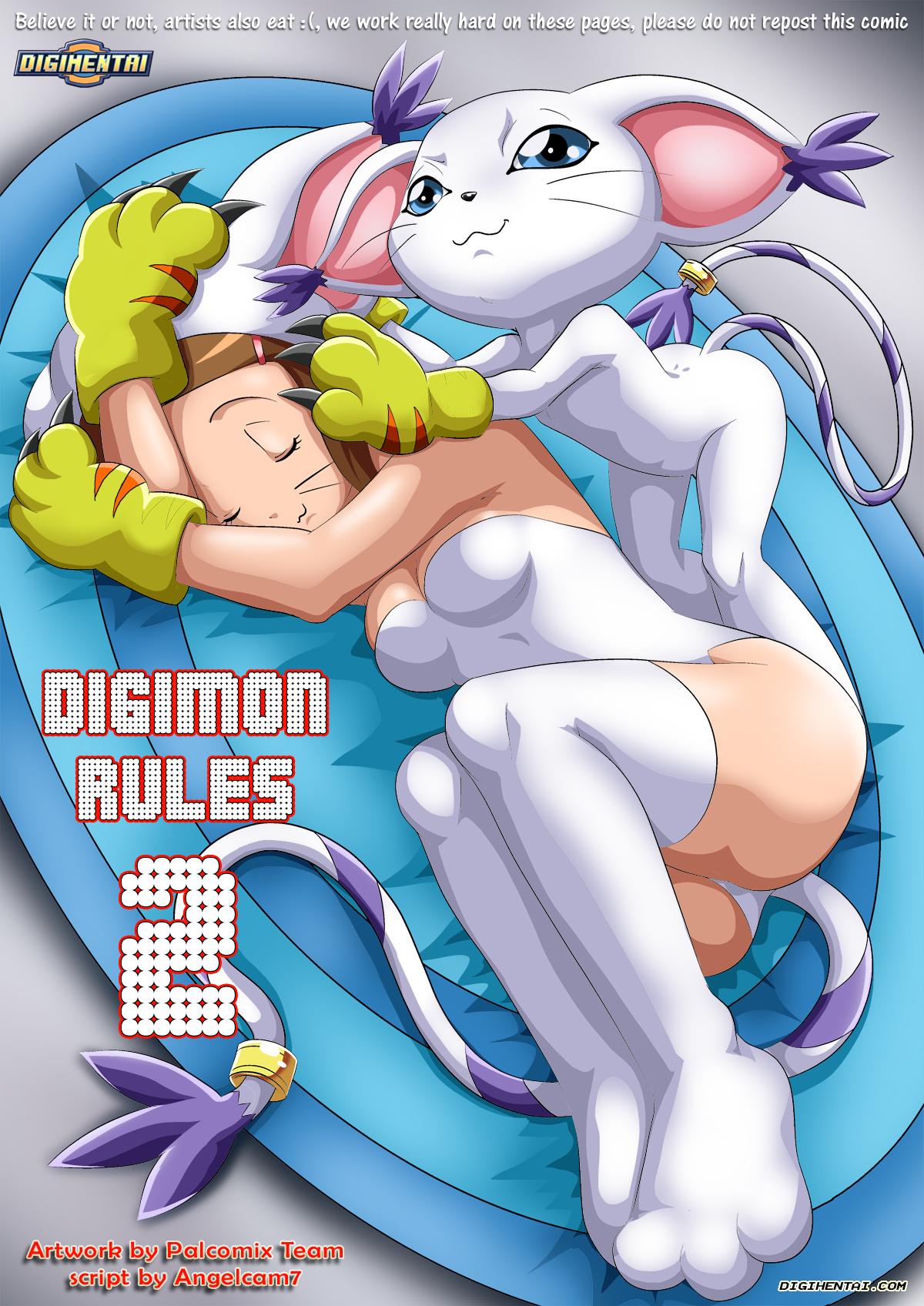 SureFap xxx porno Digimon Adventure - [Palcomix][DigiHentai] - Digimon Rules 2
