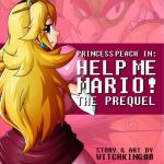 Super Mario Bros — [Witchking00] — Princess Peach in Help Me Mario! The Prequel