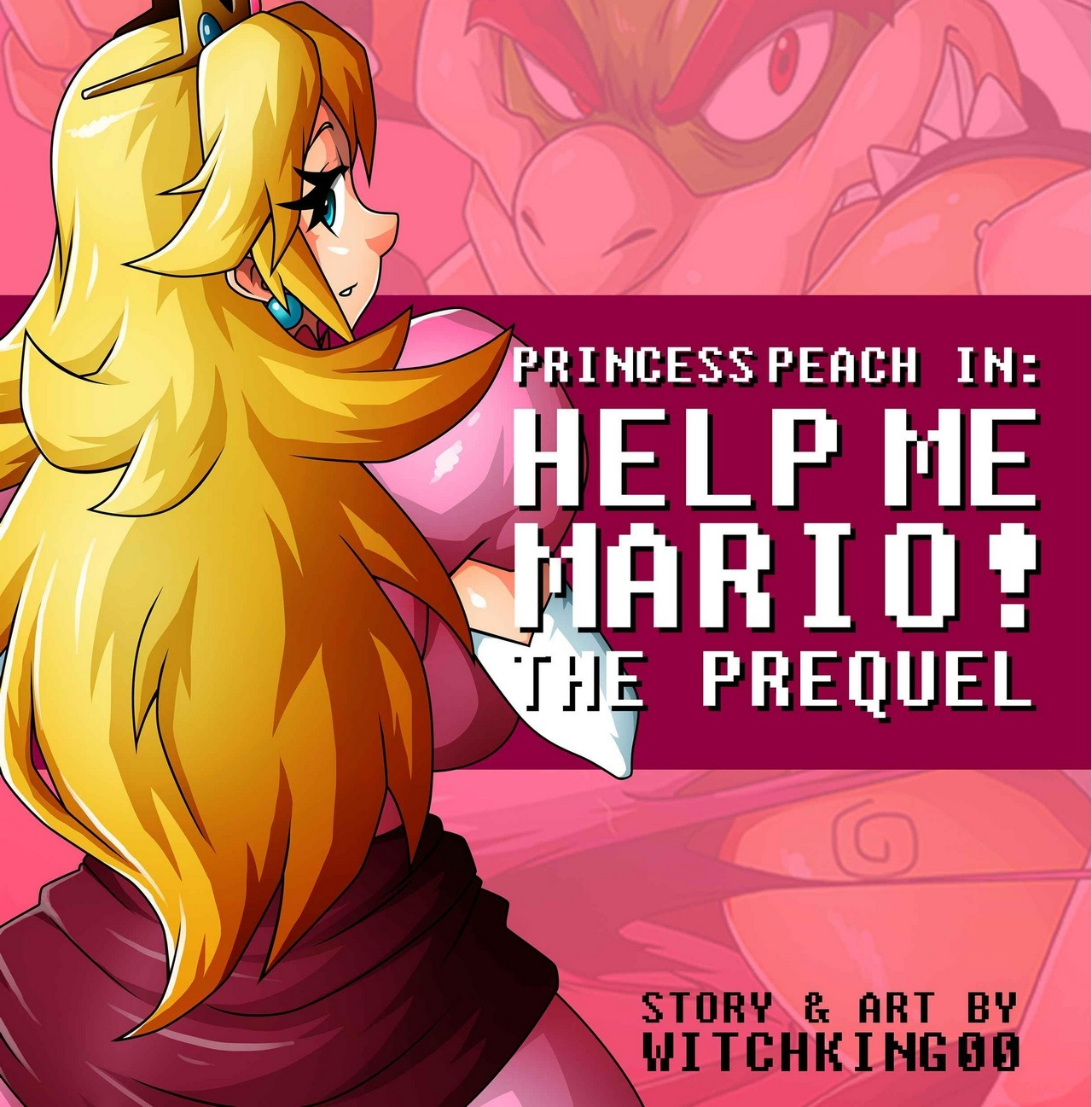 SureFap xxx porno Super Mario Bros - [Witchking00] - Princess Peach in Help Me Mario! The Prequel