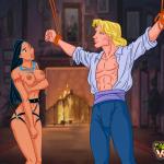 Pocahontas — [CartoonValley][NEW] — Bound Dick