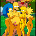 The Simpsons — [Tufos] — Simptoons 7 — Piquenique Proibido