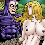 Crossover Heroes - [Leandro Comics] - Shanna Enjoys the Phantom's Huge Cock and Milky Cum