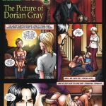 The Picture of Dorian Gray — [HorrorBabeCentral][A.B. Lust] — Another Fable of Fright — The Picture of Dorian Gray Part 1 of 4