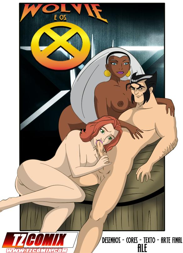SureFap xxx porno X-Men - [Ale][TZ Comix] - Wolvie e os X