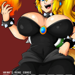 Super Mario Bros - [Witchking00] - Bowsette Mini Comic Ch.01