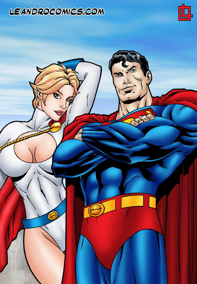 SureFap xxx porno Superman - [Leandro Comics] - Power Girl Gets Drilled by Superman's Dick of Steel!