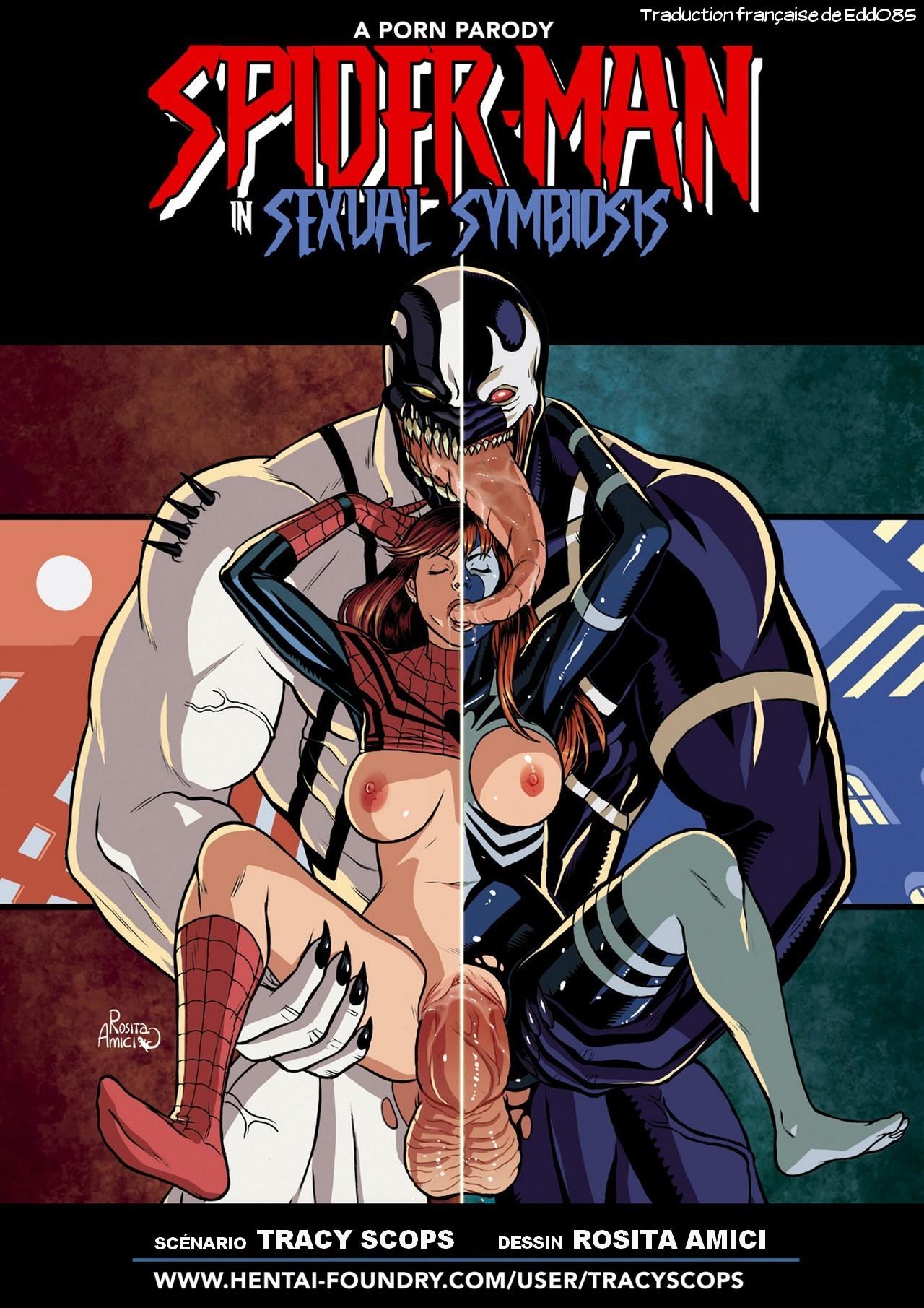 SureFap xxx porno Spider-Man - [Tracy Scops][Rosita Amici] - Sexual Symbiosis 1