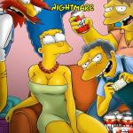 The Simpsons - [VerComicsPorno (VCP)][Drah Navlag] - Homer's Nightmare