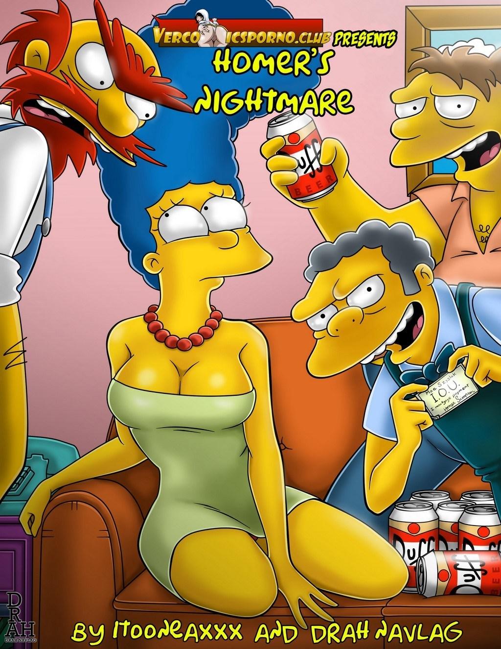 SureFap xxx porno The Simpsons - [VerComicsPorno (VCP)][Drah Navlag] - Homer's Nightmare