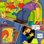 The Simpsons - [CartoonValley][Comic2] - Simpsons Family - Simpsons Is Seeing Porn Movies