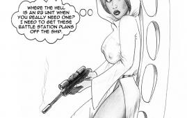Star Wars - [biker bloke] - Princess Leia - No Hope