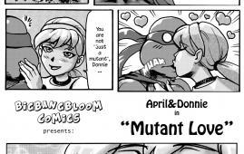 Teenage Mutant Ninja Turtles - [bigbangbloom] - April & Donni in Mutant Love