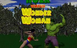 Crossover Heroes — [Shade] — The Incredible Hulk Versus Wonder Woman