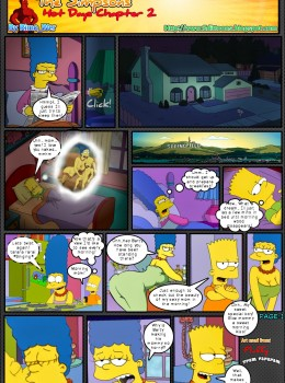 The Simpsons - Hot Days.2 (Unfinished) xxx porno