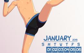 Crossover — [Incognitymous] — Loli Club Calendar 2018