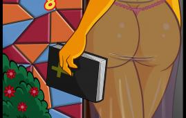 The Simpsons — [VerComicsPorno][Croc] — Los Simpsons Viejas Costumbres.8