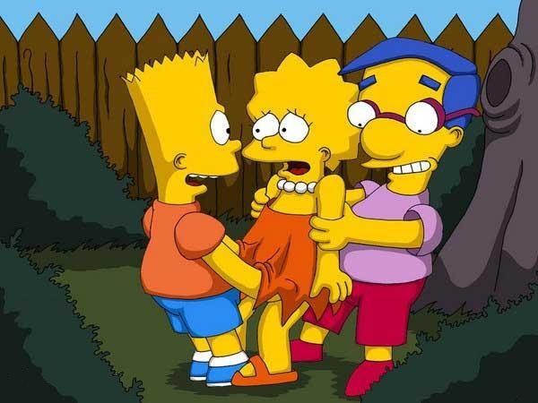SureFap xxx porno The Simpsons - [Comics-Toons] - Bart & Milhouse Fucks Lisa xxx porno