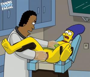 Dr. Hibbert fucks Marge 01