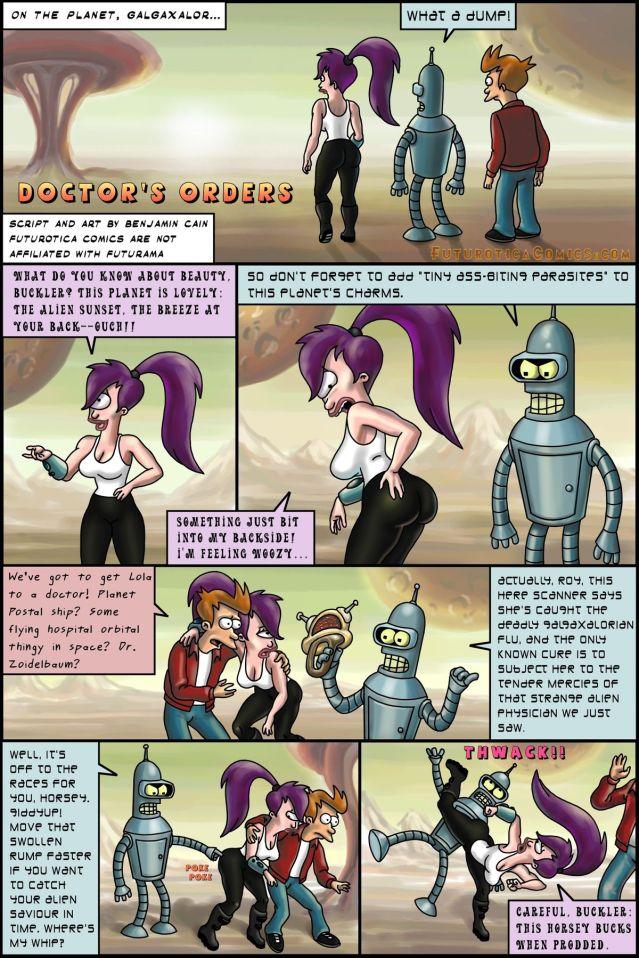 SureFap xxx porno Futurama - Doctor's Orders